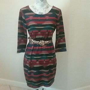 American Rag Aztec Print Dress